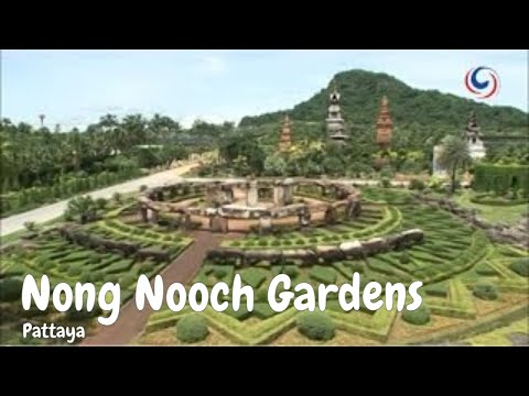 The Award Winning Nong Nooch Tropical Gardens of Pattaya