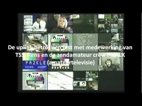Amateur TV (test) via de Eutelsat 16 graden oost (december 2000)