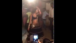 Girl Dance in village bar so funny