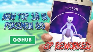 New Top 10 Pokemon By CP After The Stat Rework
