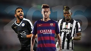 Amazing Football Skills ● Paul Pogba ● Neymar Jr ● Riyad Mahrez ● 2015/2016