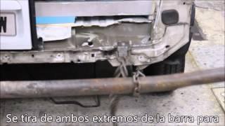CJTA 2015 P2 REPARACIÓN TRAVESAÑO TRASERO