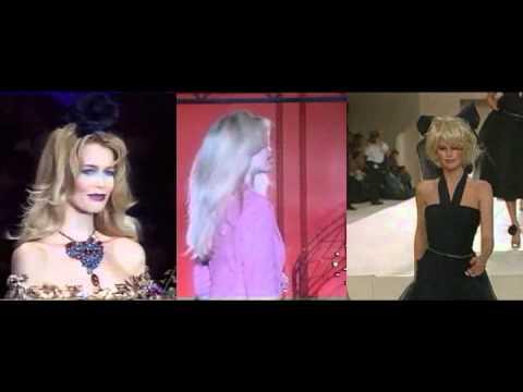Claudia Schiffer Catwalk Compilation