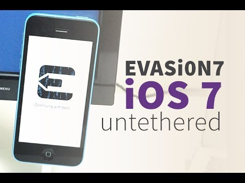 How to Jailbreak iOS 7 Untethered! with Evasion 7