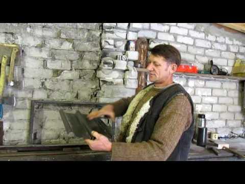 Дом в глуши.Работы с жестью- бизнес в деревне .