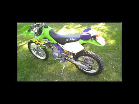 1998 KLX300 Street Legal Dirt Bike - Dual Sport