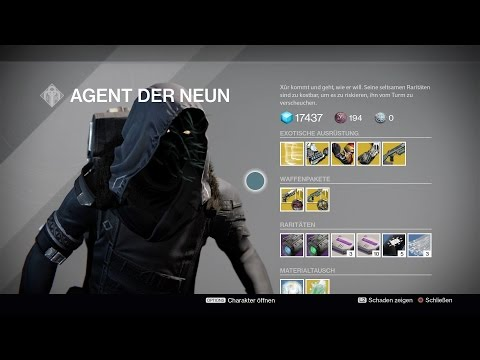 "Destiny [RoI] #0249 Xur Standort Inventar 12.5.17 ""Zhalo Supercell"" ""Waffen-Sets"" [HD][PS4]"