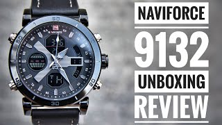 Naviforce NF9132 Dual display Unboxing and review