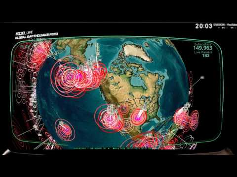 7/25/2016 -- Multiple M6.0+ Earthquakes striking across Pacific -- West coast USA on watch