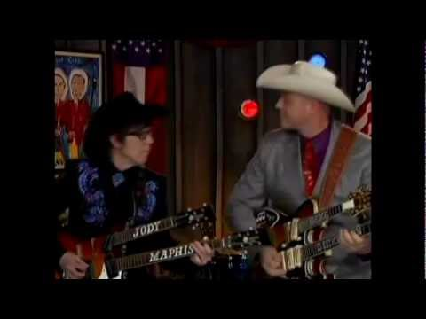 Deke Dickerson&Cousin Kenny Vaughan at the Marty Stuart Show