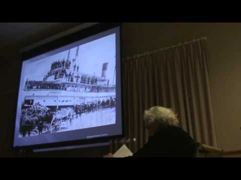 Collingwood and District Historical Society Meeting - Jan. 7, 2013