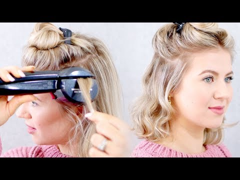 Drugstore AUTOMATED CURLING IRON? Conair Infiniti PRO Curl Secret 2.0   Milabu