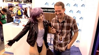 Major Cosplay from Ghost in the Shell at WonderCon 2017