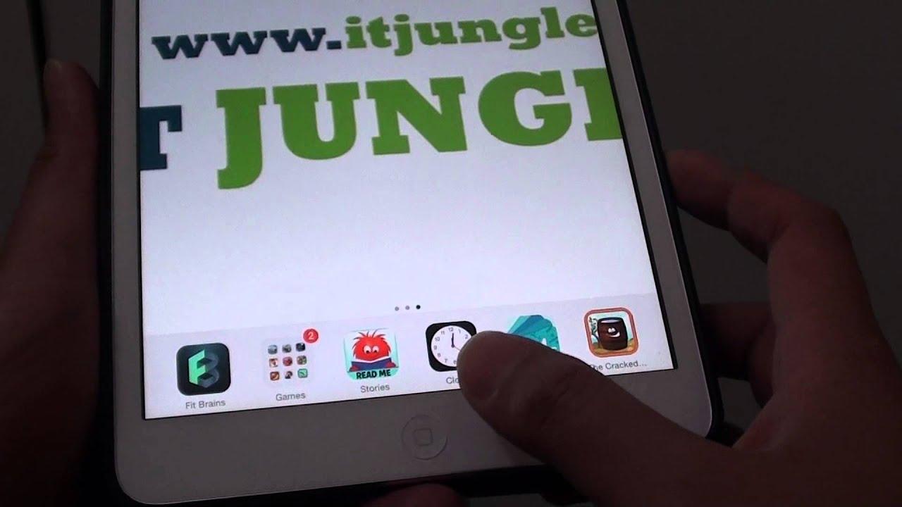 Ipad Mini Icons Ipad Mini Ios 7 How to