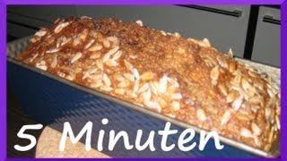 Brot backen in 5 Minuten