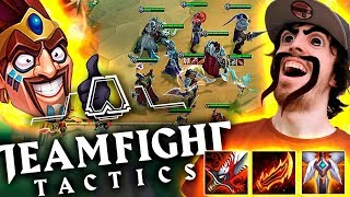 DRAVEN ROMPE TEAMFIGHT TACTICS!! (Comp Oneshots con Espadachines) ►TFT