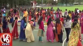 Telugu Association And IACC Organise Bathukamma and Dussehra Celebrations In New Jersey  USA News