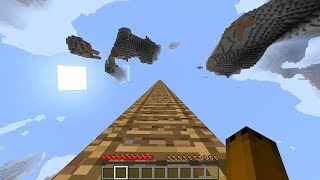 I climbed 3,000 blocks in minecraft and found this…