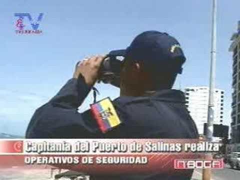 Capitanía del Puerto de Salinas realiza operativos seguridad