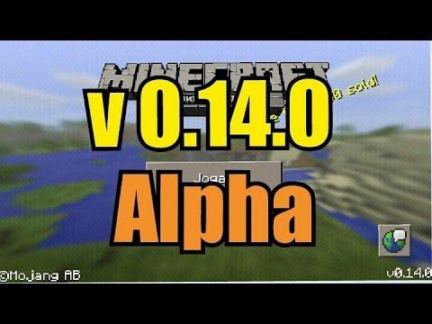 Minecraft PE v0.14.0 alpha (Download free)