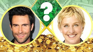 WHO'S RICHER? - Adam Levine or Ellen DeGeneres? - Net Worth Revealed! (2017)