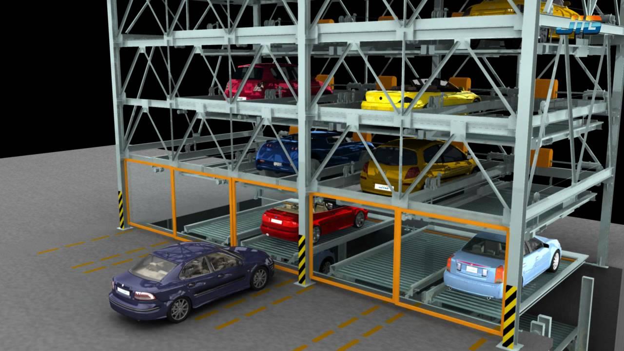 Mechanical Lift Car Park