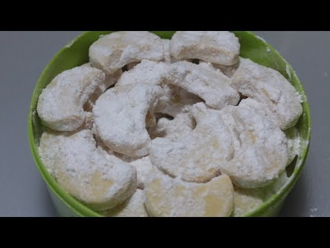 Cara Membuat Kue Putri Salju Lembut