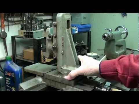 MACHINE SHOP TIPS #68 Atlas Milling Attachment Part 1 of 3 tubalcain