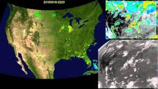 2010 US weather radar and satellite animation