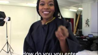 Nomzamo Interview part 1