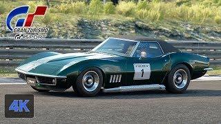 Gran Turismo Sport [4K] Chevrolet Corvette Stingray Onboard GT League - FR Challenge Walkthrough