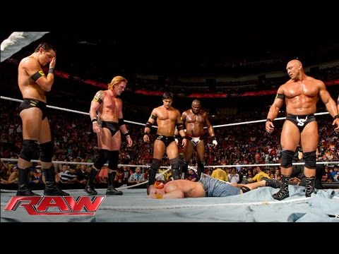 The Nexus' Wwe Debut video