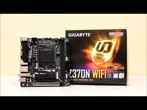 GIGABYTE Z370N WIFI + i5 - 8600k base & OC  (unboxing. review. benchmarks)