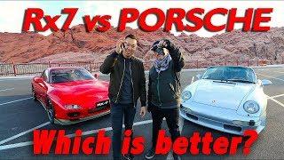 FD RX7 VS  PORSCHE 993 - DETAILED DRIVER REVIEW
