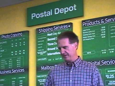 POSTAL DEPOT - Mail Box Store Testimonial - Open Your Own Mail Box Store!  Not a Franchise!