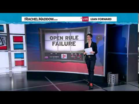 Rachel Maddow  Strong indications John Boehner is bad at his job