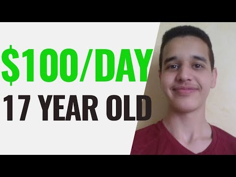 How to Make Money Online as a BROKE 17 YEAR OLD
