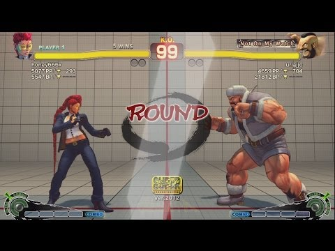 Super Uriajjo (Zangief) vs Sabo☆hani (Viper) - AE 2012 Matches *1080p*