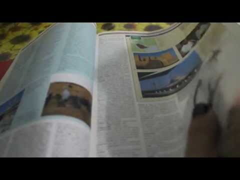 Asmr Page Flipping. Clock Ticking. video