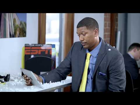 The Wolverine ESPN Promo - Jalen Rose helps out Sage Steele
