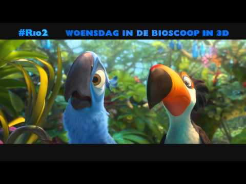 Rio 2 Clip 'Family Event 30 sec woe' (Nederlands gesproken) - 9 april in de bioscoop in 3D