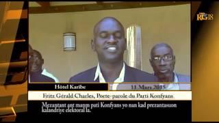 VIDEO: Haiti - BATAY pete ant Rudy Heriveaux ak Fritz Gerald Charles nan Reunion Konsey Electoral la