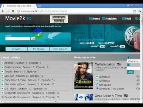 How to download or watch full movies and tv shows for free?