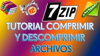 TUTORIAL | COMPRIMIR Y DESCOMPRIMIR ARCHIVOS | WINDOWS | ESPAÑOL | HD |