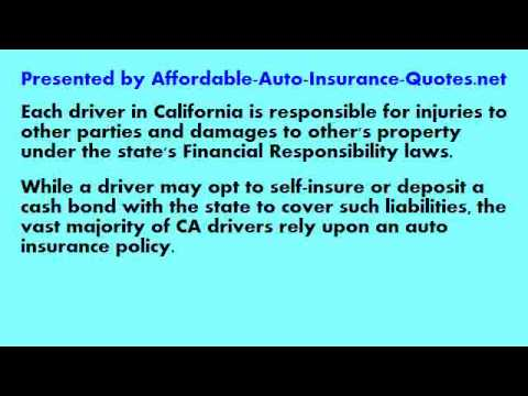 Auto Insurance Quote California