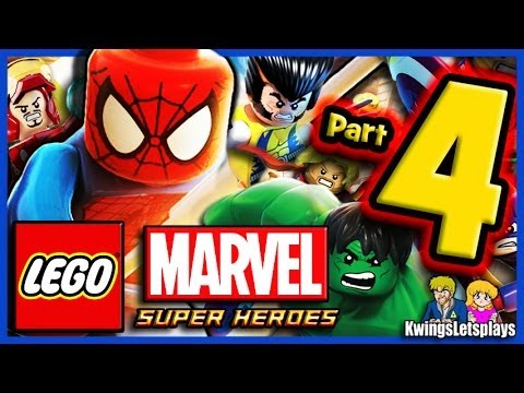LEGO Marvel Super Heroes Walkthrough Part 4 Rykers Island Prison Break