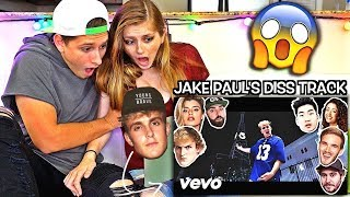 REACTING TO JAKE PAUL'S DISS TRACK!! (YOUTUBE STARS DISS TRACK)