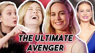 Brie Larson Funny Moments Captain Marvel 2019