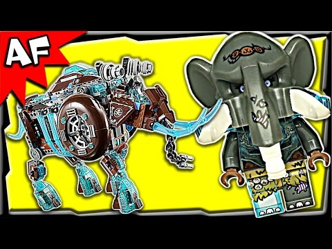 Maula's MAMMOTH STOMPER 70145 Lego Legends of Chima Stop Motion Set Review