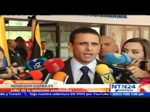 "Capriles rechaza que ""Plan Económico"" esté en manos de militares venezolanos"